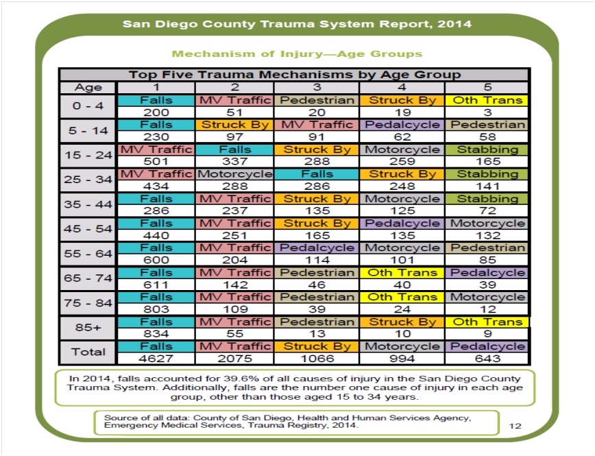 trauma system report